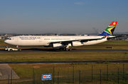 Airbus A340-313E - ZS-SXB operated by South African Airways