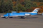 Fokker 70 - PH-KZU operated by KLM Cityhopper