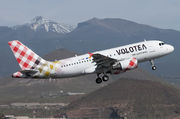 Airbus A319-112 - EI-FMT operated by Volotea
