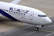 Boeing 737-800 - 4X-EKF operated by El Al Israel Airlines