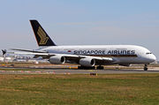 Airbus A380-841 - 9V-SKM operated by Singapore Airlines