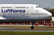 Boeing 747-400 - D-ABVT operated by Lufthansa