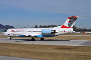 Fokker 100 - OE-LVB operated by Austrian arrows (Tyrolean Airways)