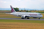 Boeing 787-8 Dreamliner - A7-BCM operated by Qatar Airways