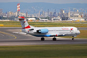 Fokker 100 - OE-LVI operated by Austrian Airlines