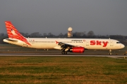 Airbus A321-131 - TC-SKI operated by Sky Airlines
