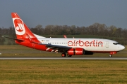 Boeing 737-700 - D-AHXH operated by Air Berlin