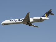 McDonnell Douglas MD-87 - SE-DIU operated by City Airline