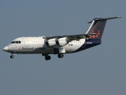 British Aerospace Avro RJ85 - OO-DJN operated by Brussels Airlines