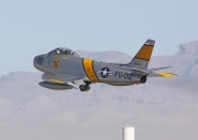 North American F-86F Sabre - N186AM operated by Private operator