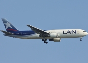 Boeing 767-300ER - CC-CZU operated by LAN