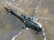 Aerospatiale SA-316B Alouette III - V-278 operated by Schweizer Luftwaffe (Swiss Air Force)