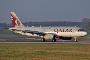 Airbus A320-232 - A7-AHH operated by Qatar Airways