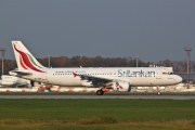 Airbus A320-214 - 4R-ABM operated by SriLankan Airlines