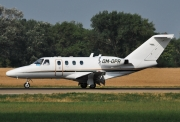 Cessna 525 CitationJet - OM-OPR operated by Opera Jet