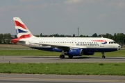 Airbus A319-131 - G-EUPX operated by British Airways