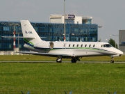Cessna 680 Citation Sovereign - OK-UNI operated by Travel Service