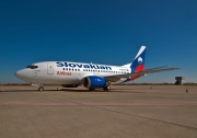 Boeing 737-500 - OM-BTS operated by Slovakian Airlines