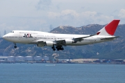 Boeing 747-400 - JA8078 operated by Japan Airlines (JAL)