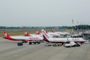 Berlin Tegel airport overview