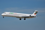 McDonnell Douglas MD-82 - LZ-LDK operated by Bulgarian Air Charter