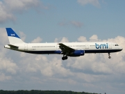 Airbus A321-231 - G-MEDF operated by bmi British Midland