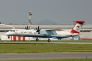 Bombardier DHC-8-Q402 Dash 8 - OE-LGD operated by Austrian Airlines