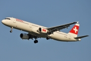Airbus A321-111 - HB-IOD operated by Swiss International Air Lines