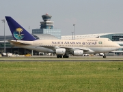 Boeing 747SP - HZ-AIF operated by Saudi Arabian Airlines