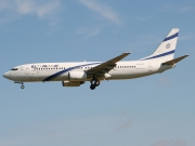 Boeing 737-800 - 4X-EKC operated by El Al Israel Airlines