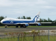 Boeing 747-400ERF - VP-BIM operated by AirBridgeCargo