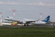 Embraer E195LR (ERJ-190-200LR) - 4O-AOC operated by Montenegro Airlines