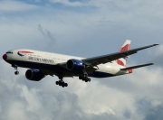 Boeing 777-200ER - G-VIIT operated by British Airways