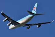 Boeing 747-400ERF - HL7605 operated by Korean Air Cargo