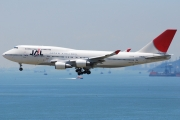 Boeing 747-400 - JA8086 operated by Japan Airlines (JAL)