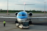 Fokker 70 - PH-KZA operated by KLM Cityhopper
