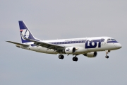 Embraer E175LR (ERJ-170-200LR) - SP-LIM operated by LOT Polish Airlines