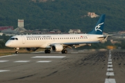Embraer E195LR (ERJ-190-200LR) - 4O-AOB operated by Montenegro Airlines