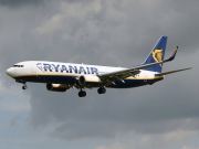 Boeing 737-800 - EI-DLV operated by Ryanair