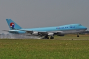 Boeing 747-400ERF - HL7600 operated by Korean Air Cargo