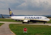 Boeing 737-800 - EI-DYP operated by Ryanair