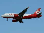 Airbus A319-112 - D-ABGN operated by Air Berlin