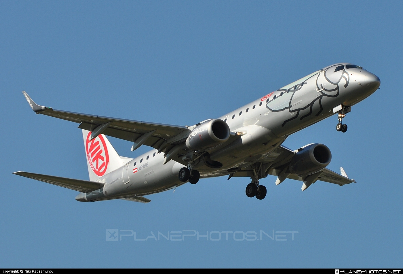 Embraer E190LR (ERJ-190-100LR) - OE-IHB operated by Niki #e190 #e190100 #e190100lr #e190lr #embraer #embraer190 #embraer190100lr #embraer190lr #flyniki #niki