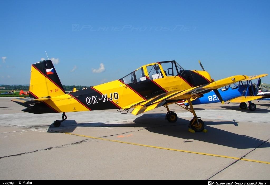 Zlin Z-37A C3 Čmelák - OK-NJD operated by Private operator #cmelak #z37 #z37ac3 #zlin #zlin37 #zlin37cmelak