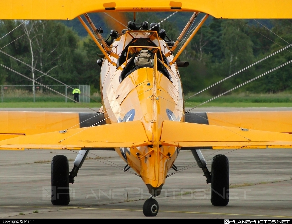 Boeing B75N1 - N43GK operated by Private operator #boeing
