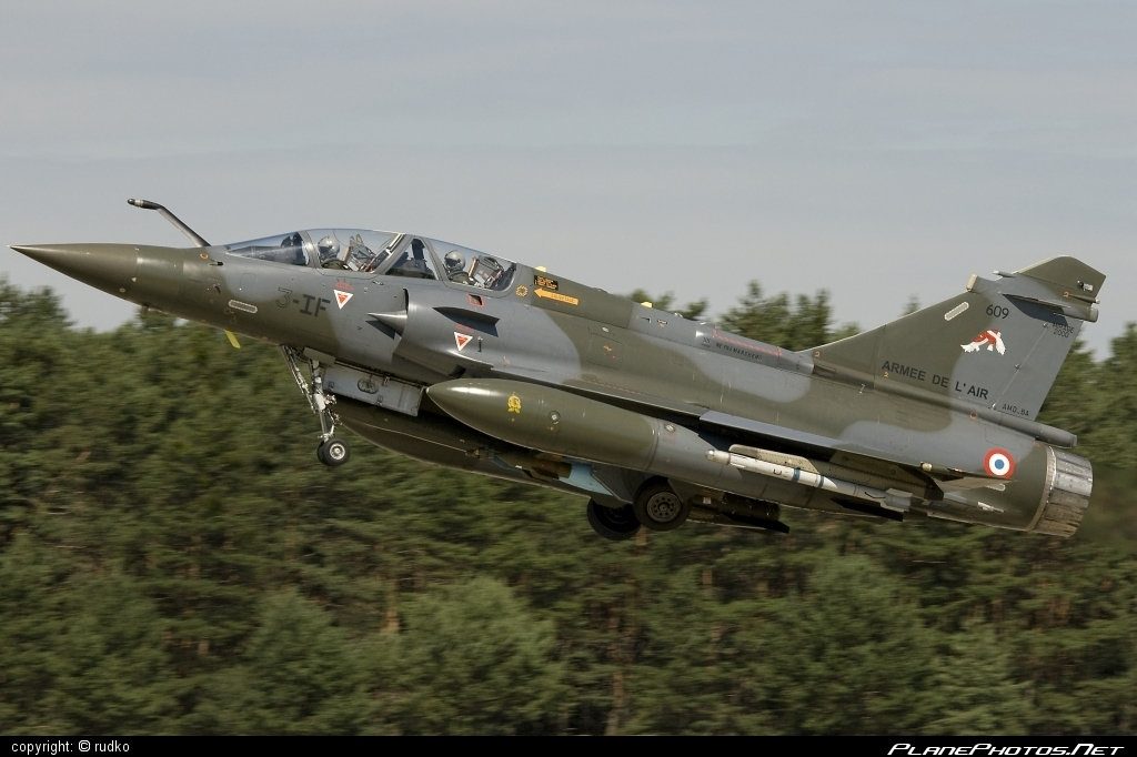 Dassault Mirage 2000D - 609 operated by Armée de l´Air (French Air Force) #DassaultMirage #DassaultMirage2000 #DassaultMirage2000d #armeedelair #dassault #frenchairforce #mirage #mirage2000 #mirage2000d