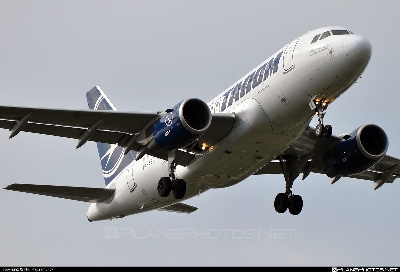 Airbus A318-121 - YR-ASC operated by Tarom #a318 #a320family #airbus #airbus318