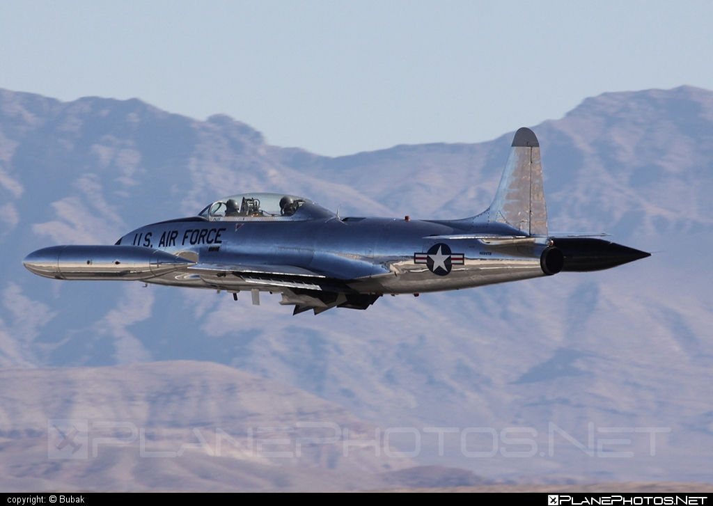 Canadair T-33A Silver Star - N84TB operated by Private operator #canadair