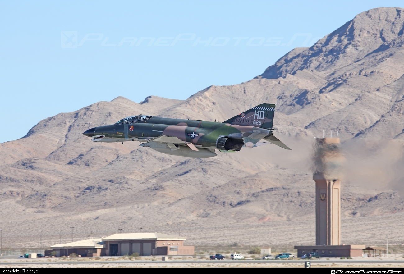 McDonnell Douglas QF-4E Phantom II - 74-1626 operated by US Air Force (USAF) #mcdonnelldouglas #usaf #usairforce