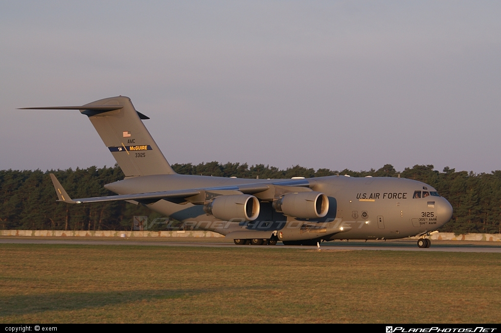 Boeing C-17A Globemaster III - 03-3125 operated by US Air Force (USAF) #boeing #c17 #c17globemaster #globemaster #globemasteriii #usaf #usairforce